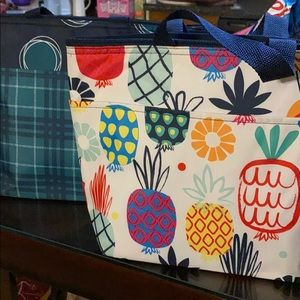 Two thirty one insulated lunch totes.
